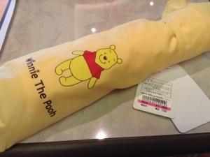 プーさんの折りたたみ傘が2100円→1050円になっています