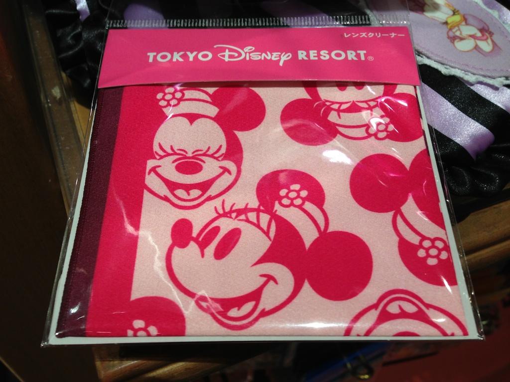 ミニーちゃんのレンズクリーナーが480円→240円になっています