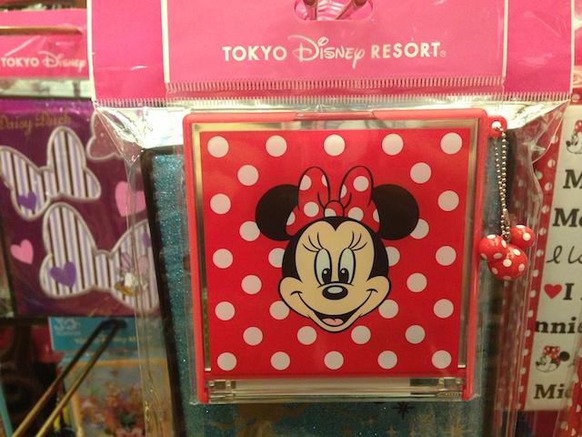 ミニーちゃんのミラーが750円→500円になっています