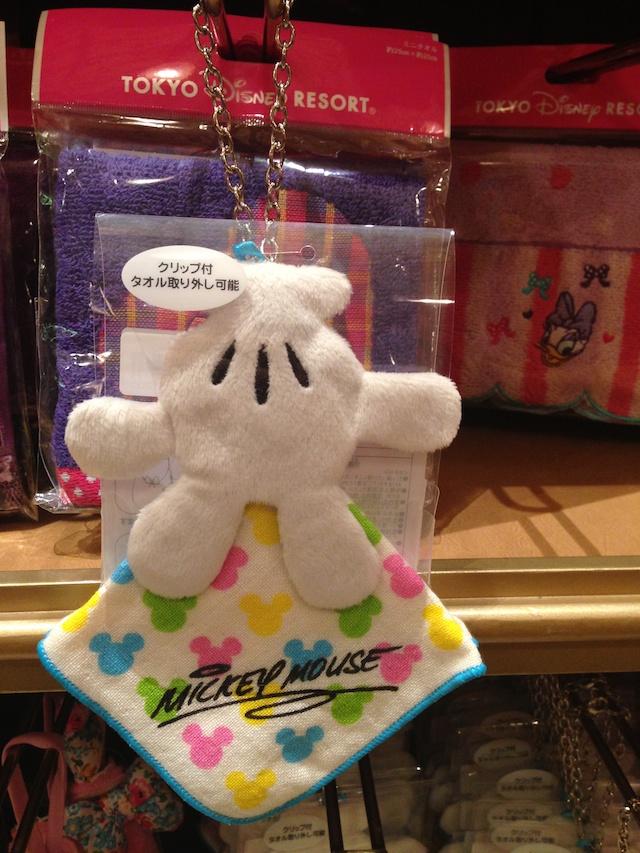 ミッキーのクリップ付きタオルが1200円→800円になっています