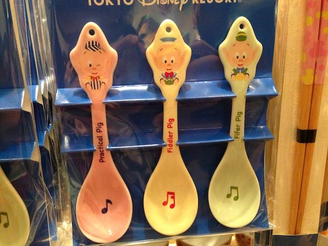 三匹の子ぶたのスプーンが1700円→900円になっています