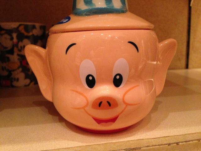 三匹の子ぶたの陶器の小物入れが1500円→800円になっています