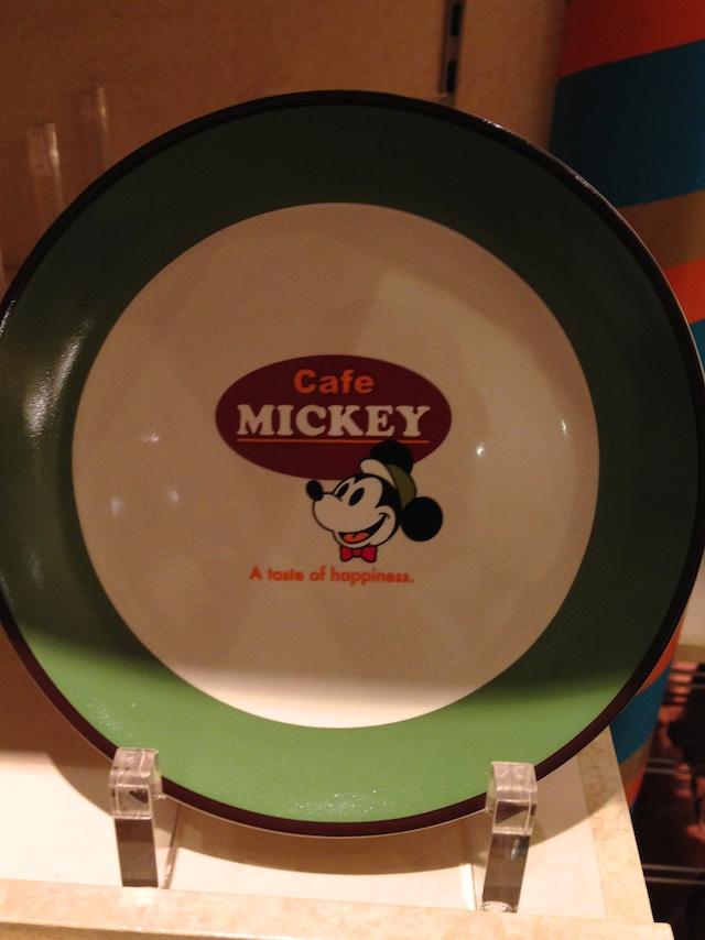 ディズニーテーブルウェア「Cafe MICKEY」プレート(小)が800円→400円になっています