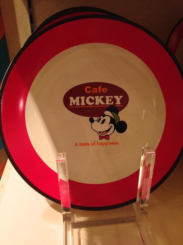 ディズニーテーブルウェア「Cafe MICKEY」プレート(大)が1200円→600円になっています
