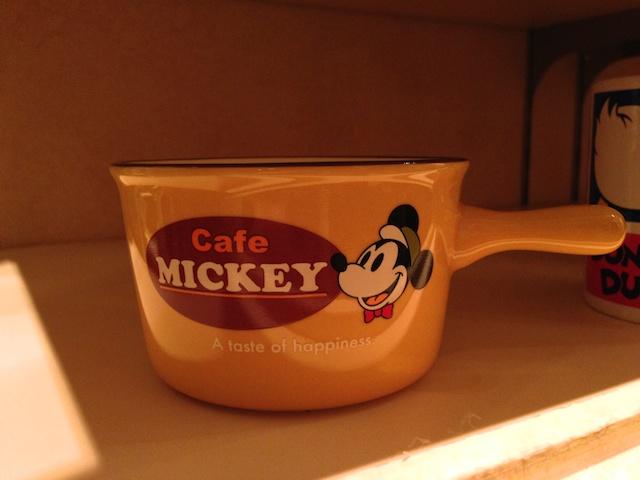 ディズニーテーブルウェア「Cafe MICKEY」スープカップが1100円→500円になっています