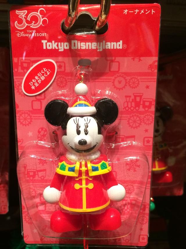 クリスマスファンタジー2013ミッキーとミニーちゃんのオーナメントがそれぞれ700円→500円になっています