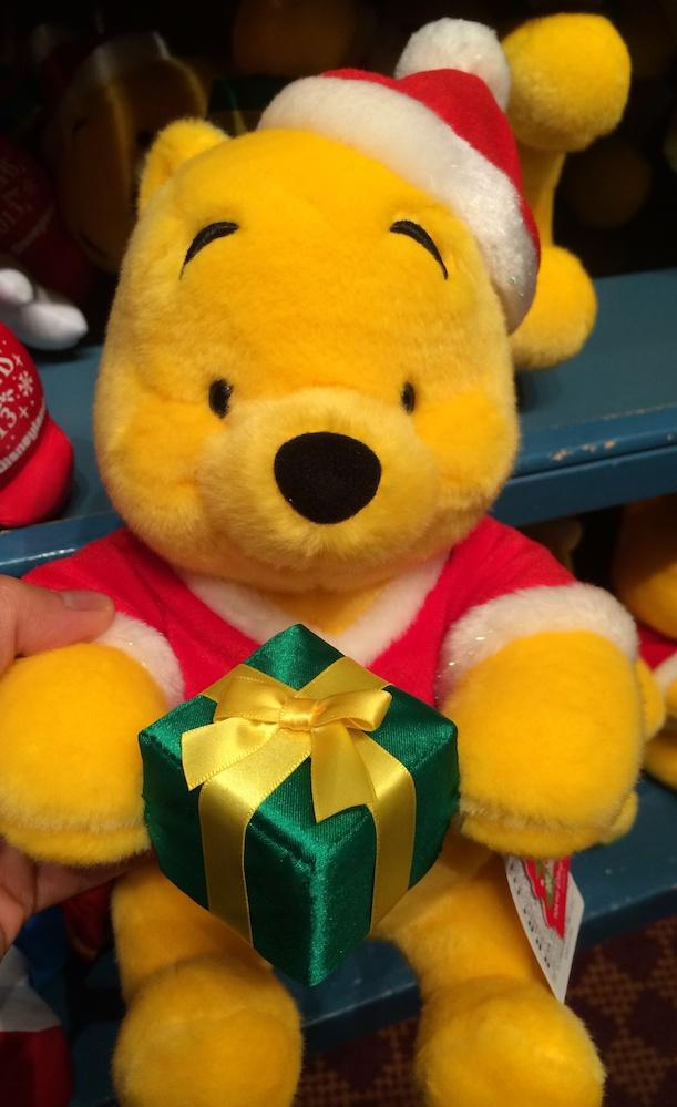 クリスマス2013プーさんのぬいぐるみが3600円→2600円になっています