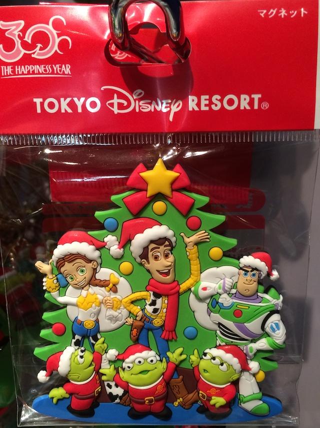 クリスマス2013トイ・ストーリーのマグネットが700円→400円になっています
