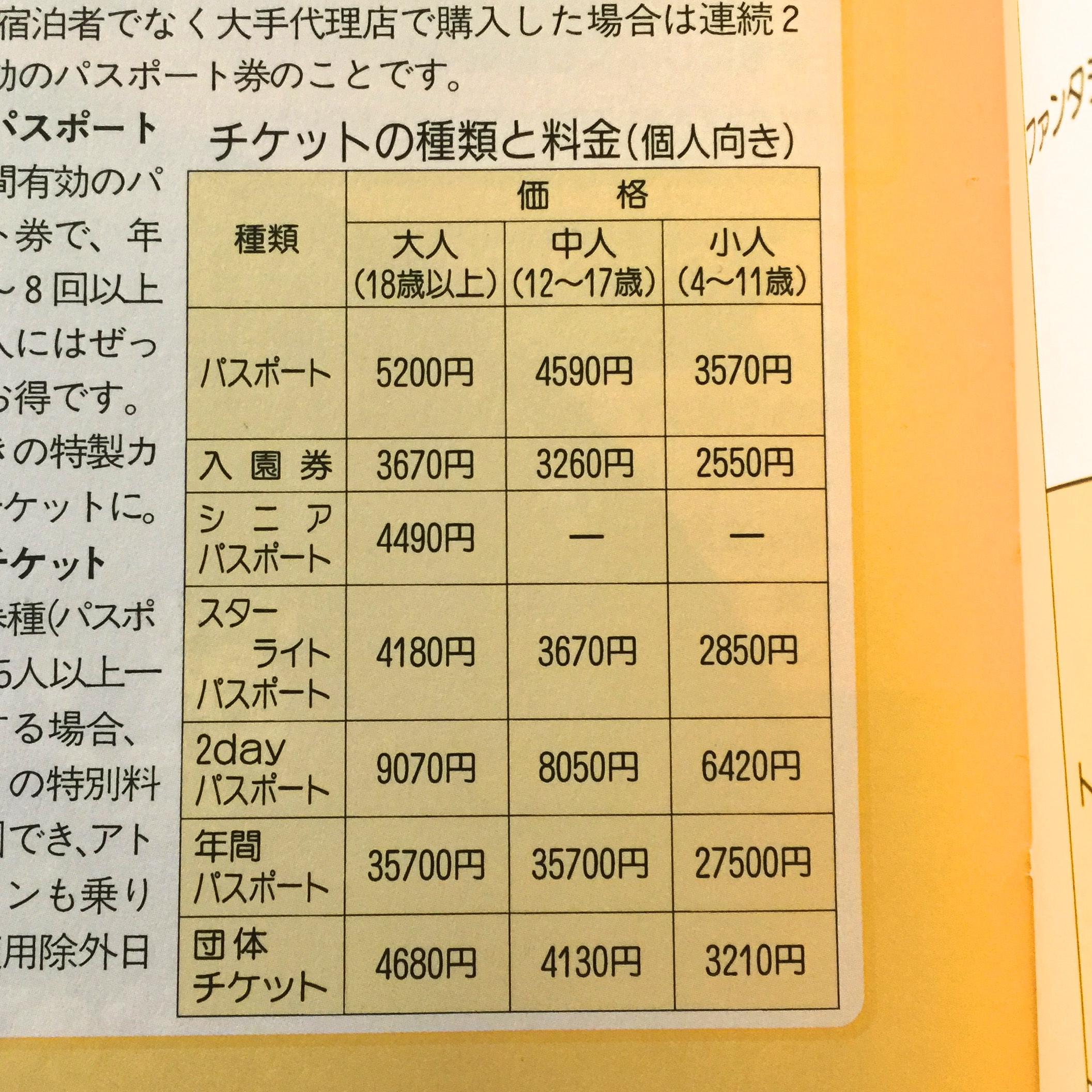 「東京ディズニーランド」「東京ディズニーシー」チケット料金が改定