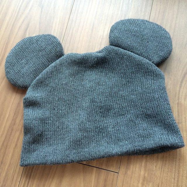パークでゲットしたミッキーのシンプルなニット帽を追加購入した件