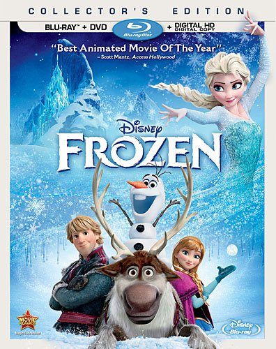 「アナと雪の女王」DVD/ブルーレイの予約受付開始!(MovieNEX)