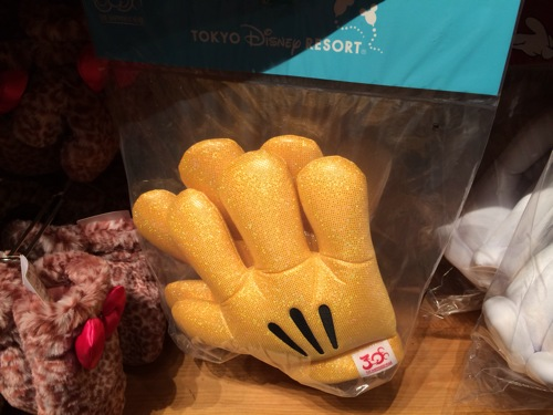 30周年のミッキーミットが1800円→1100円になっています